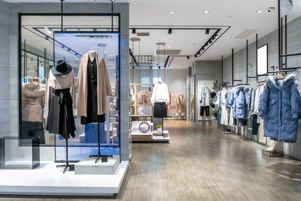 Shop Interior and Lighting