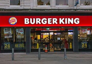 burger king shop front image