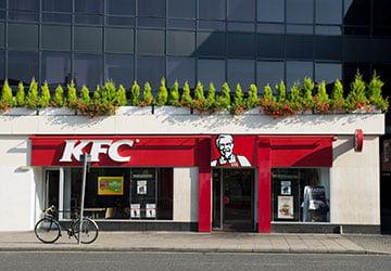 kfc shop front image