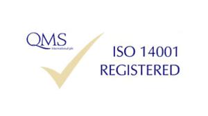 qms iso 14001 registered logo