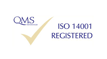 qms iso 14001 registered logo