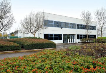 The 3 Network data Centre in Mosley Road, Trafford Park, Manchester M17 1QA